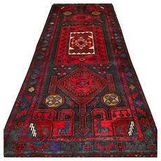 10.2 x 4.2 Wonderful Kazak rug √ Free shipping