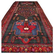 10.8 x 4.8 Tribal Kazak rug √ Free shipping