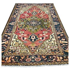 6.6 x 4.3 1920s Turkish rug √ Free shipping