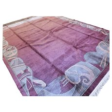 Perfect oversized contemporary rug 13.1 x 10 √ Free shipping