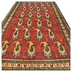 8.5 x 5 Tribal Boteh design rug √ Free shipping