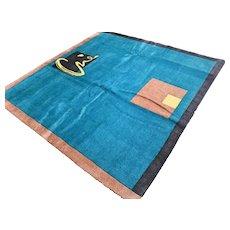 6.6 x 6.5 Modern contemporary art rug √ Free shipping