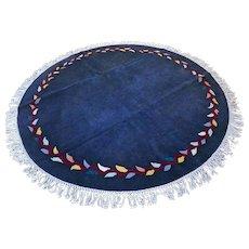 6.5 ft Unused round modern rug √ Free shipping
