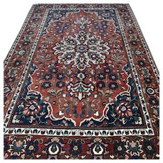 6.7 x 4.5 Colorful bohemian rug √ Free shipping
