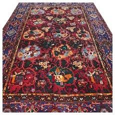 6.6 x 4.4 Special design Kazak rug √ Free shipping