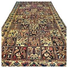 9.6 x 5.3 Special bohemian tile design rug √ Free shipping