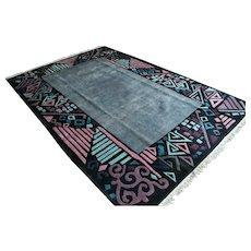 10 x 6.7 Incredible modern contemporary art rug √ Free shipping