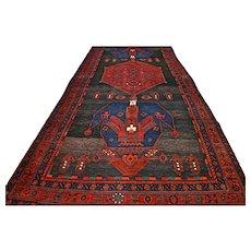 10.2 x 4.4 Tribal Kazak runner rug - Free shipping