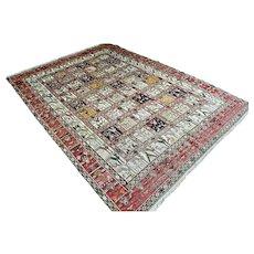 9 x 6.6 Wonderful Turkish sumak rug √ Free shipping