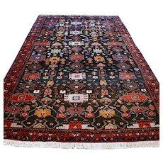 9.8 x 5.1 Dark Bohemian Oriental rug √ Free shipping
