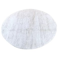 6.6 Round Moroccan Berber rug √ Free shipping