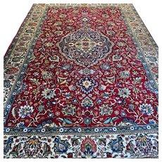 10.8 x 7.2 Signed luxury bohemian Oriental rug √ Free shipping