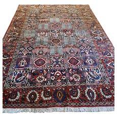 Free shipping - 10 x 7 Luxury large tile design Oriental rug