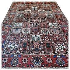 Free shipping - 10 x 6.8 Luxury tile design Oriental rug