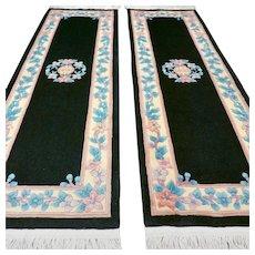 6 x 2 Luxury unused Chinese rug set √ Free shipping