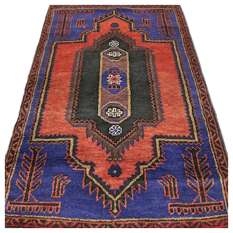 Free shipping -  New and unused Afghan Prayer rug - 6.6 x 4.2
