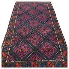 5.3 x 3.1 New and unused tribal Afghan Kazak √ Free shipping