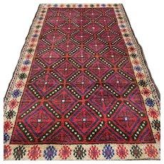 Free shipping - 4.5 x 2.6 Afghan Kazak Oriental rug