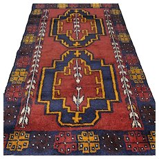 4.2 x 2.6 New and unused Afghan Kazak  rug √ Free shipping
