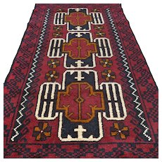 4.8 x 2.8 New and unused Afghan Kazak  rug √ Free shipping