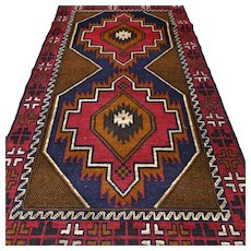 6.2 x 3.5 New and unused Afghan Kazak rug √ Free shipping