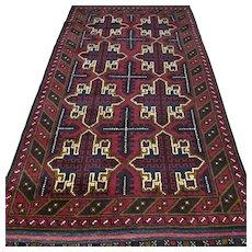 6.4 x 3.4 New and unused Afghan Star Kazak rug √ Free shipping