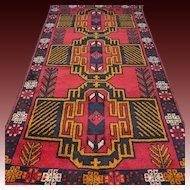 6.7 x 3.5 New and unused Afghan Kazak rug √ Free shipping