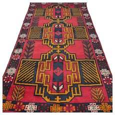 6.7 x 3.5 New and unused Afghan Kazak rug √ Free shipping