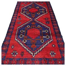 5.9 x 3.3 New and unused Afghan Kazak rug √ Free shipping