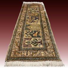 5.6x2 Silk Anatolian Kayseri rug √ Free shipping