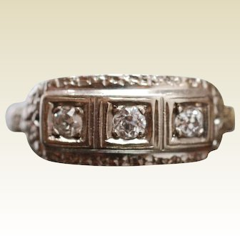 Art Deco 1930s Diamond Ring
