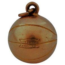 Vintage 10k Basketball Charm