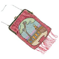 Antique Beaded Purse | Antique Purse | Vintage beaded handbag