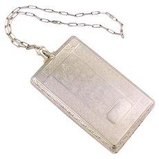 1920s Vintage Compact | Vintage Art Deco Purse | 1920s purse | Vintage case | Vintage Art Deco Case