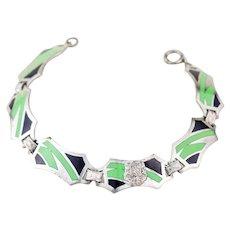 Vintage Art Deco Bracelet | Art Deco Jewelry | 1920s Bracelet