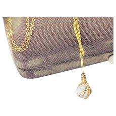 Antique 14k Gold Claw Pendant | Antique Victorian Pendant | Rock Crystal Antique Pendant