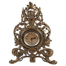 Vintage Warner Plymouth 8 Day Mantle Clock