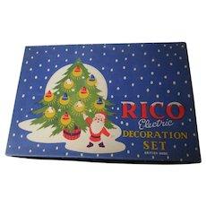 RICO Lanterns Christmas Light Set - England - Original Box