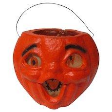 Vintage Halloween Choirboy Pulp Pumpkin Lantern