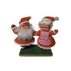 Marvelous Brite Star Christmas Santa & Mrs Claus