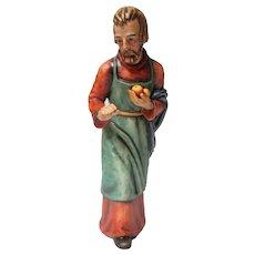 1987 Hummel - 12 Inch Scale - Christmas Nativity Figure - Joseph - Signed