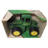 "Vintage Ertl # 5508 JOHN DEERE 1/16"" Scale 4 Wheel Drive Tractor in Original Box"