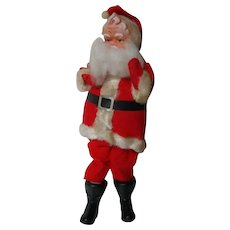 "11 1/2"" Tall - Vintage Japan Christmas Santa Claus Doll #65"