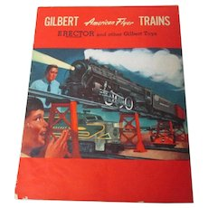 1954 American Flyer Train & Erector Sets Catalog