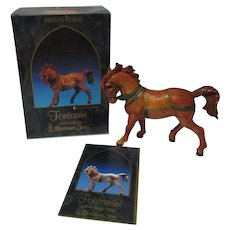 "Fontanini Christmas Nativity Figure - Brown Horse - 5"" Scale - Original Box"