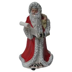 Royal Doulton Santa Father Christmas in Original Box - Signed & Dated