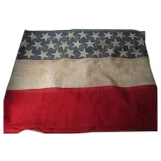 116 Inches x 23 Inches Old 4th Of July RWB Stars & Stripes Bunting Banner