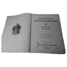 1925 DAPRATO Statuary Company - Catholic Church Altar Catalog - 432 Pages