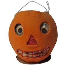 "3"" Tall - Nice Halloween Germany JOL Pumpkin Lantern #7"