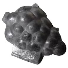 Vintage Aluminum Ice Cream Mold - CLUSTER OF GRAPES